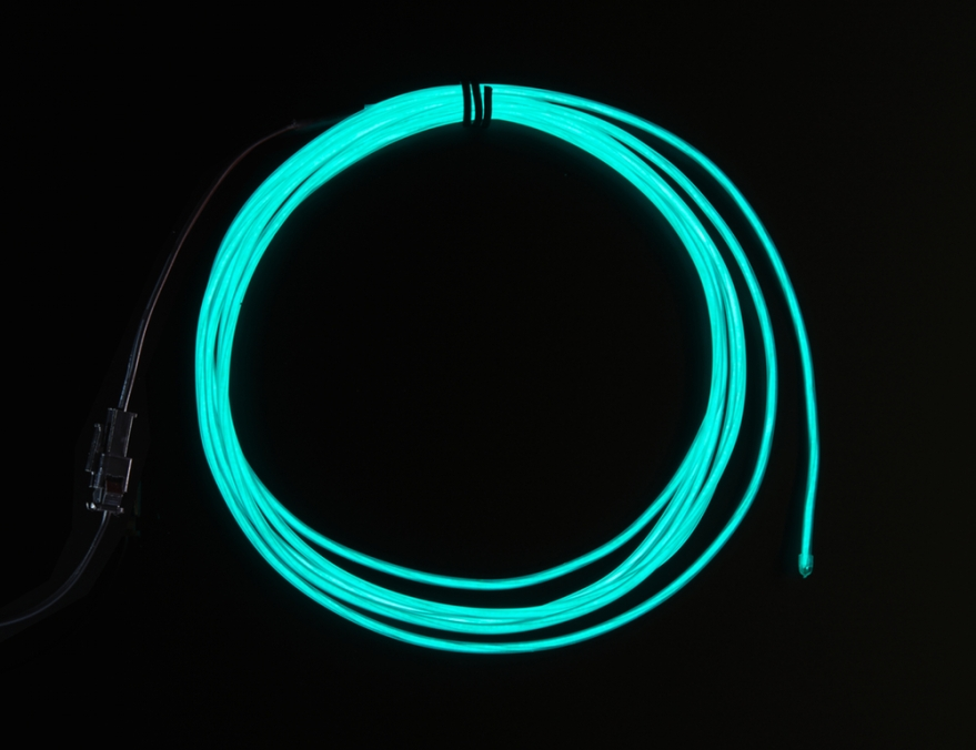 Adafruit Industries, High Brightness Aqua Electroluminescent (EL) Wire