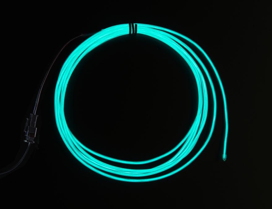 Adafruit Industries, High Brightness Aqua Electroluminescent (EL) Wire